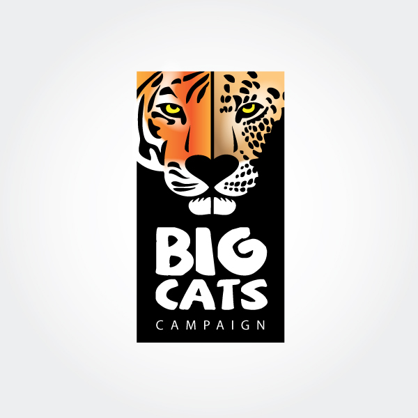 Friends of the Magnetic Hill Zoo 'Big Cats Campaign' - Logo design