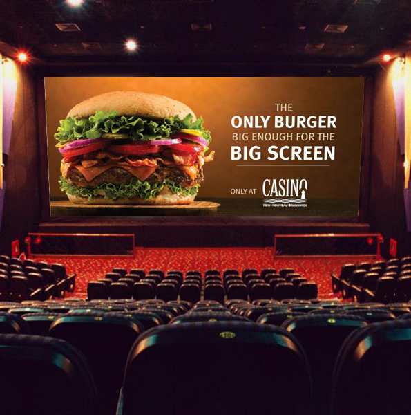 Casino New Brunswick (Moose's Wild) 'Big Screen' cinema pre-roll