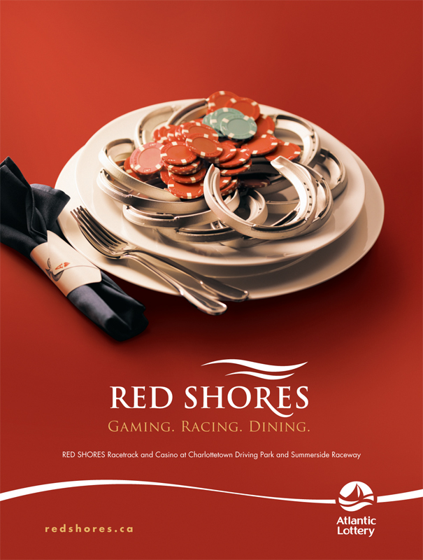 Red Shores 'Plate' print ad