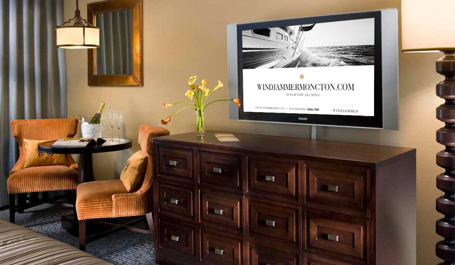 Windjammer in-room digital advertising