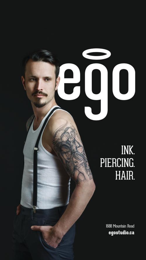 Ego Transit Poster