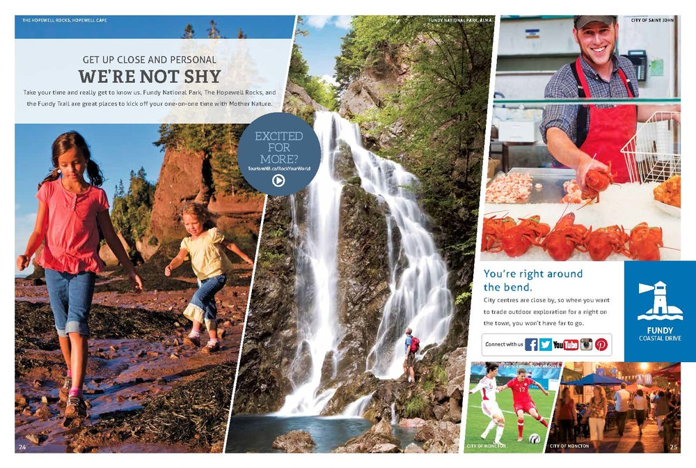 2015 New Brunswick Official Touring Guide