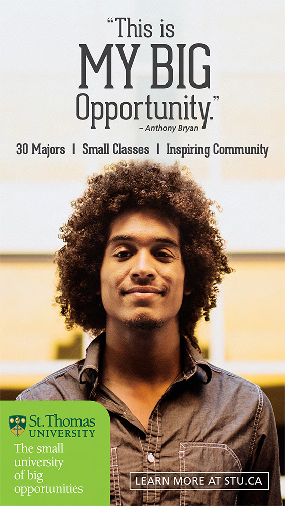 "STU ""My Big Opportunity"" Campaign Poster"