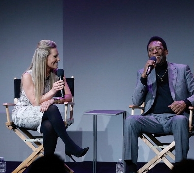 Georgie Thompson and Pele`