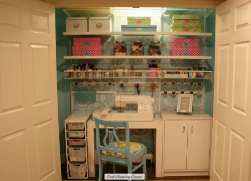 http://www.hometalk.com/1092632/craft-sewing-closet