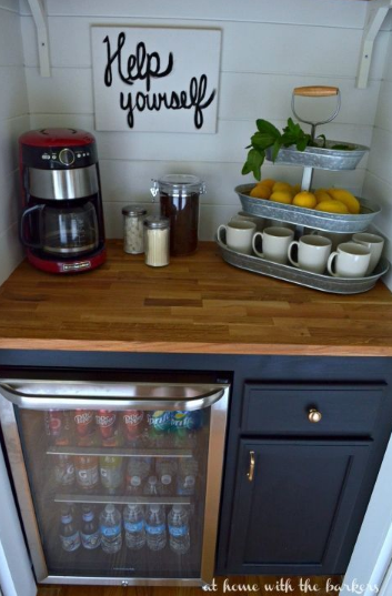 http://athomewiththebarkers.com/how-to-build-a-beverage-bar/