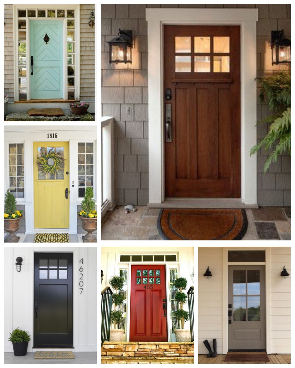 Is it clean? Does it need maintenance? Or does it just need some freshening up? Here are a few ways to make a good impression with your front door. & First Impressions - The Front DoorGraber Interiors