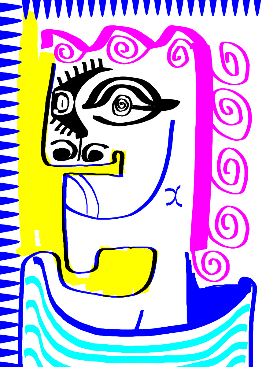 """""""Drawing 6"""", digital, 2014, one print available"""