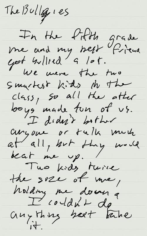 An Honest Story about Bullying ♥ 5th Grade thru Adulthood — Matt ...