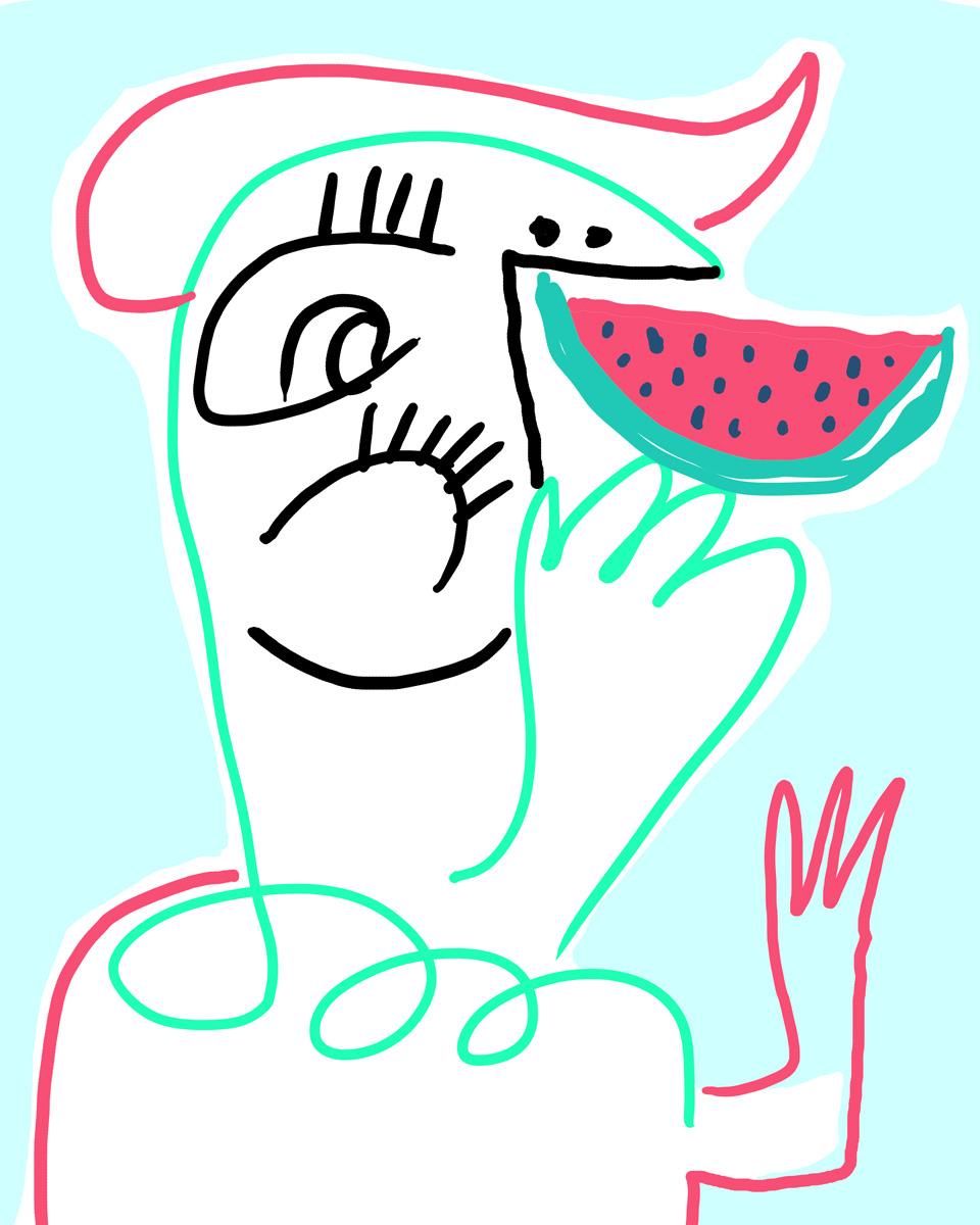 Woah watermelon ROCKS!