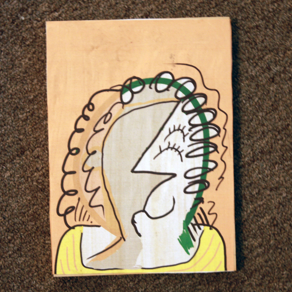 Gleeful portrait of a woman!