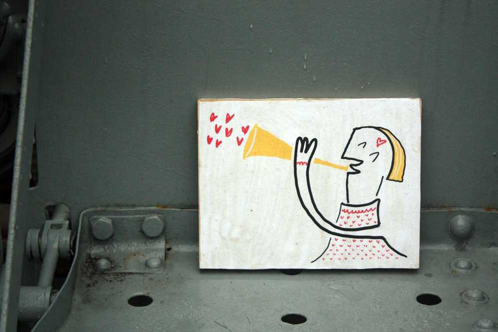 """Illustration of """"love""""-ly music! Carter Park in Leominster, MA"""
