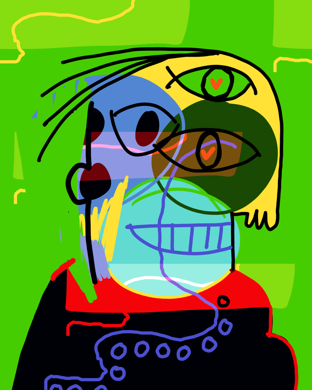 genuine-soul_portrait-art_glitch-inspired