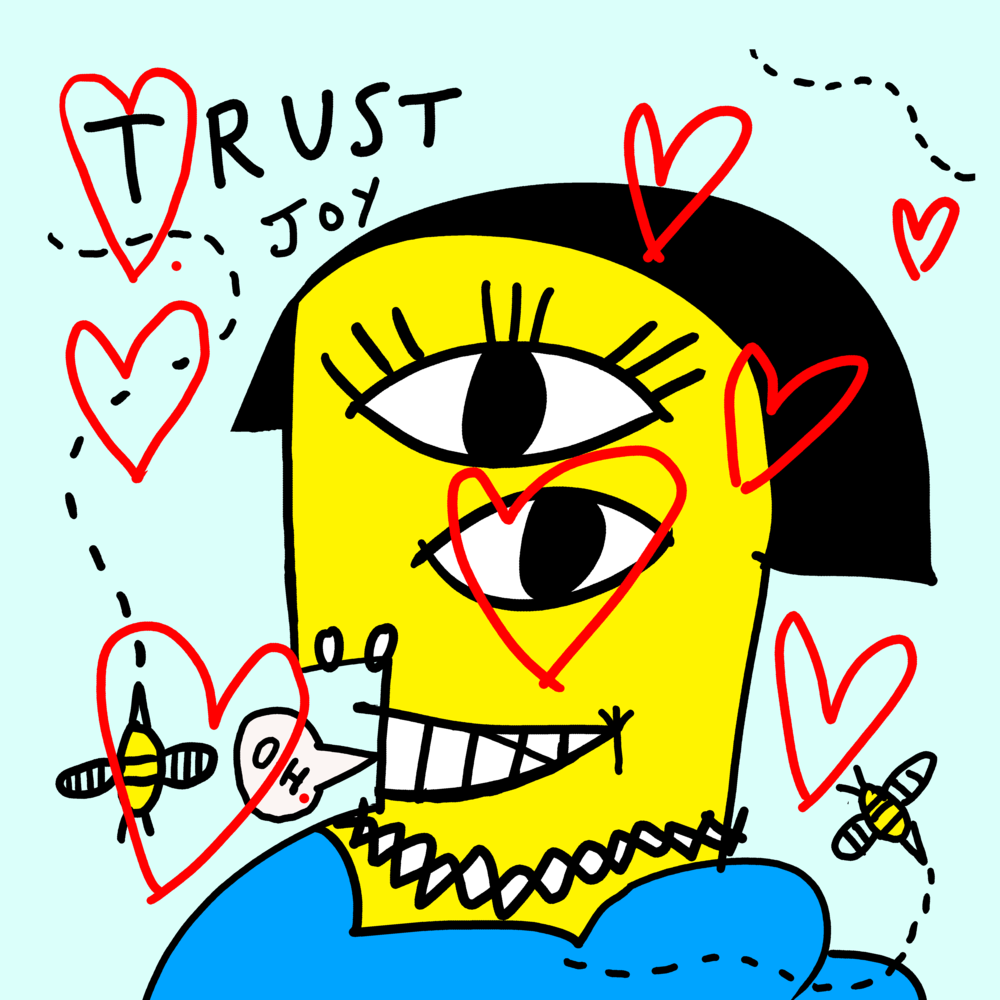 """""""Trust is Essential"""" drawing by Matt Vaillette"""