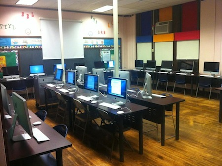 Meredith Elementary new computer lab