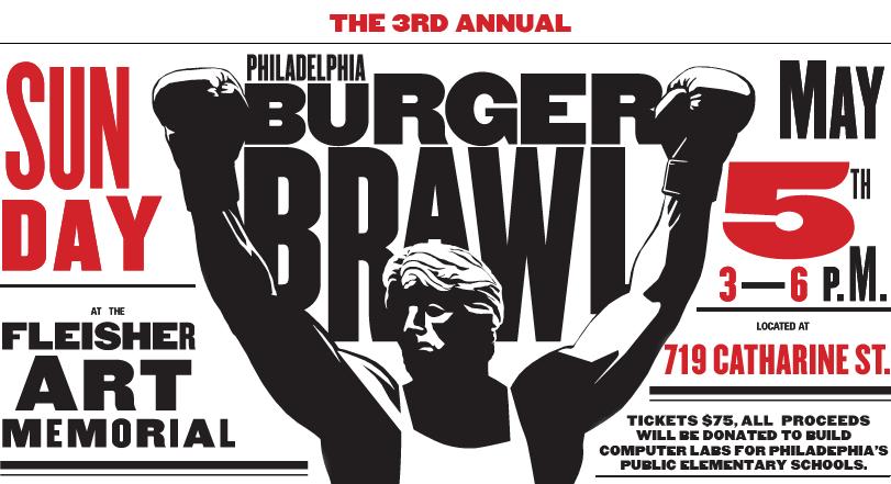 Third Annual Philadelphia Burger Braw