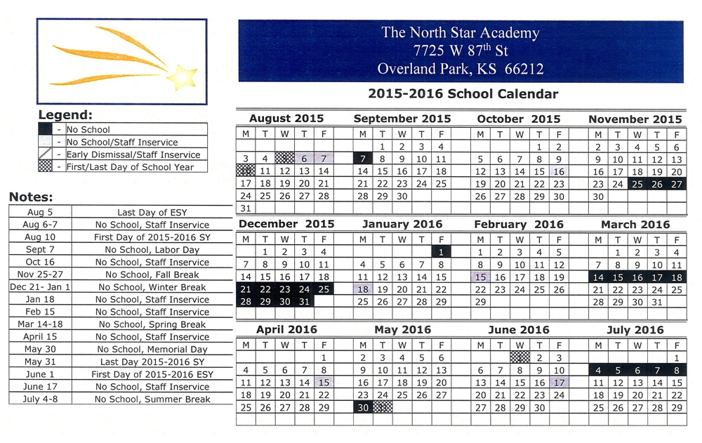 Click  HERE  to download the 2014-2015 School Calendar
