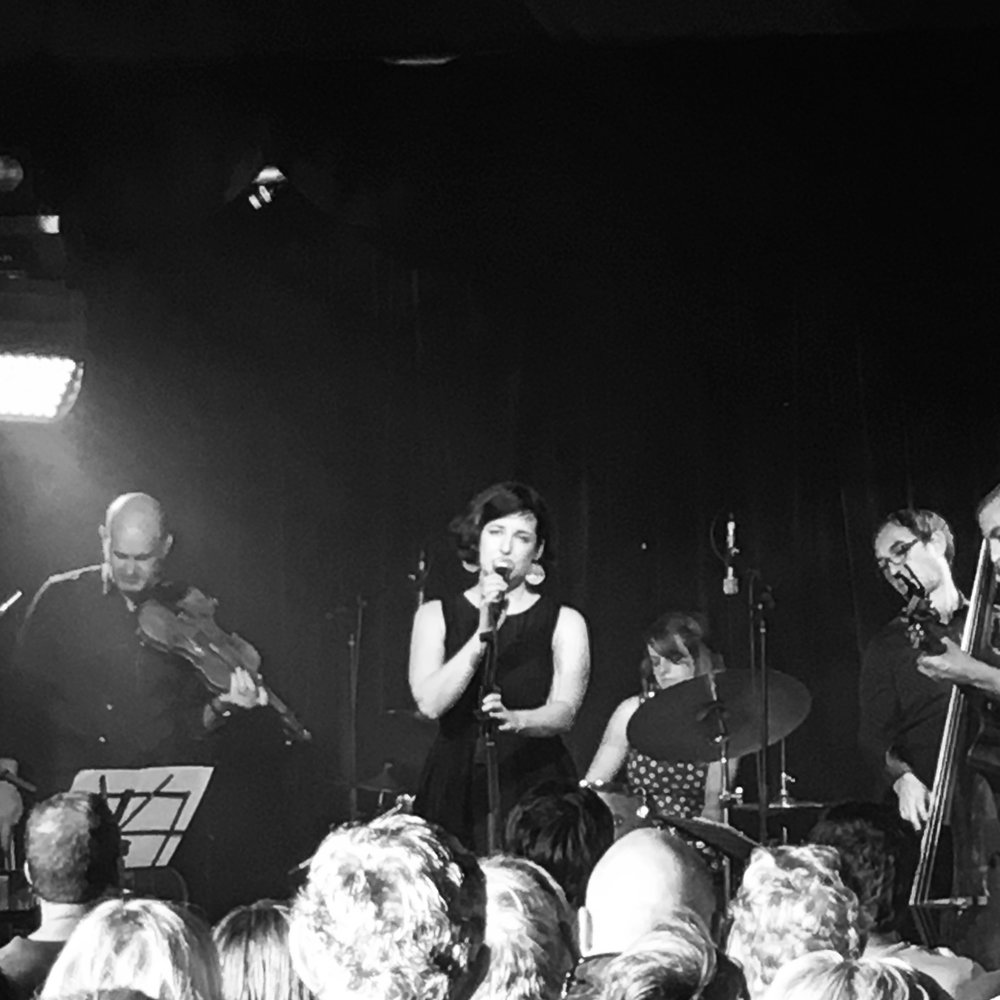 Launching Daffodils or Weeds to a sold out crowd in The Deluxe at The Garden of Unearthly Delights, Adelaide Fringe Festival, 2016