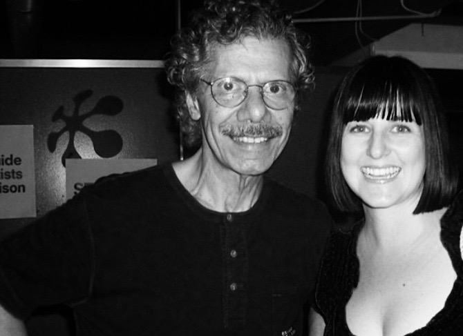 Hanging backstage with Chick Corea,Montreux Jazz Festival, 2011.