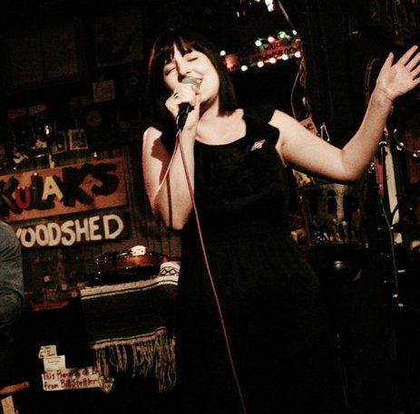 Performing at Kulaks Woodshed,LA, 2011