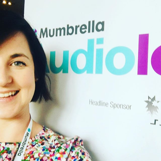 Awkward sneaky selfie at @mumbrella_aus Audioland conference today. I'm sure no one noticed 🤦🏻♀️ Learnt so much! Who wants to make all the podcasts with me??? 🎙🎶🎷🥳