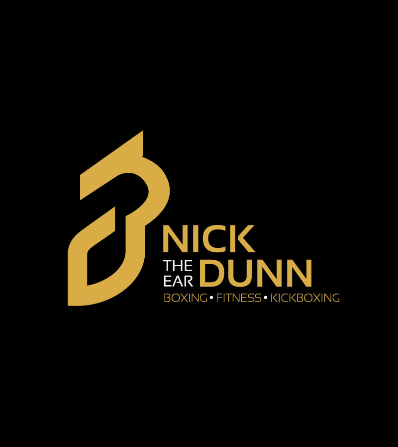 Nick the ear DUnn - Logo development and design for a personal trainer.