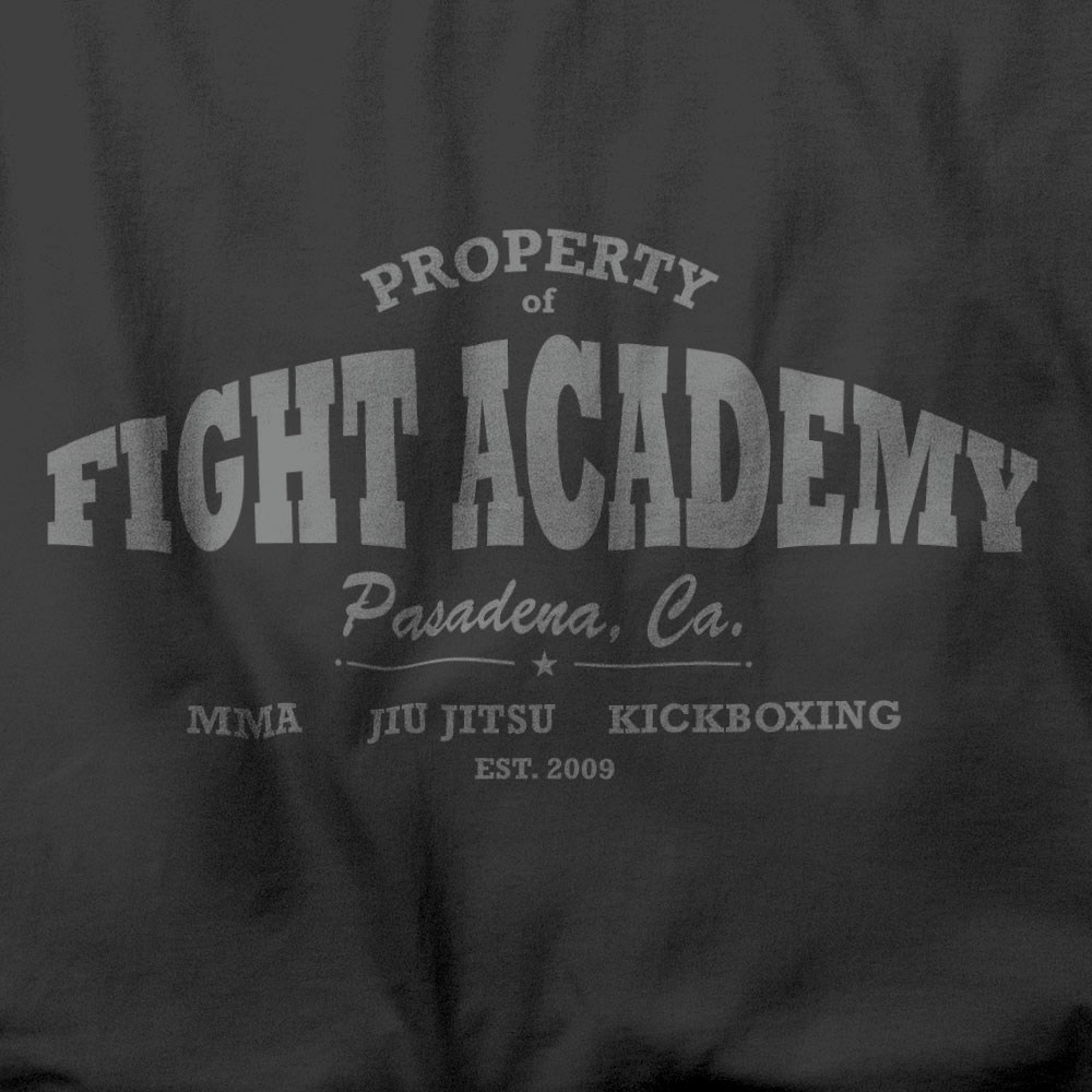 GYM SHIRT - Typography t-shirt design for a mixed martial arts gym in Pasadena, CA.