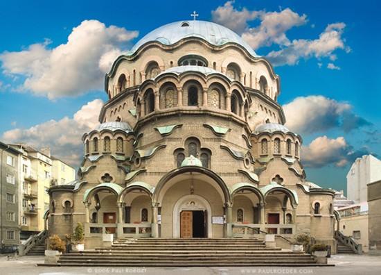 St. Alexander Nevsky Cathedral in Sophia, Bulgaria
