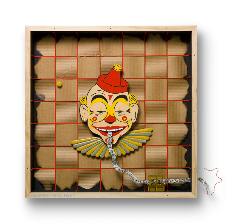 "CASH CLOWN 23"" x 23"" x 2.75"""