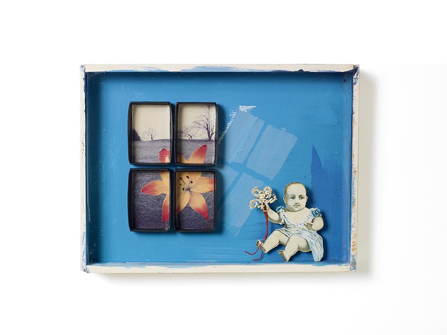 """WINDOW 1: LILY 9"""" x 6.75"""" x 1.75"""""""