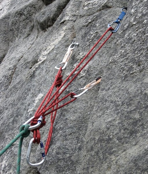 Rock Climbing Instruction - Top Rope Climbing