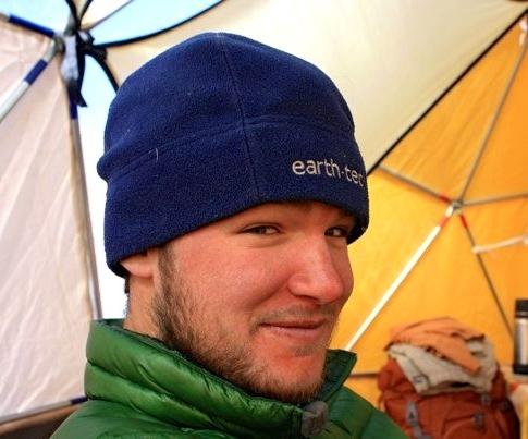 Ian Hanley-in tent.jpg