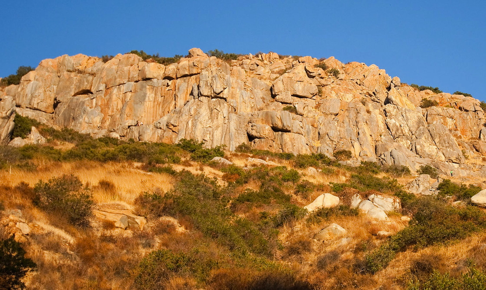 Rock Climbing - San Diego - Mission Gorge - Mission Trails - SAANO Adventures