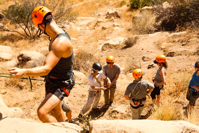 Los Angeles Rock Climbing Rappelling and Advanced Rescue