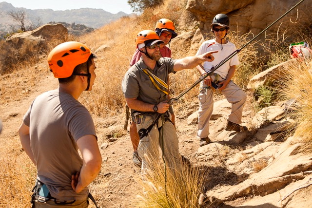 San Francisco Rock Climbing Rappelling and Advanced Rescue