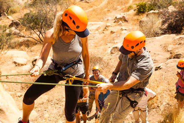 Copy of San Francisco Rock Climbing Rappelling and Advanced Rescue