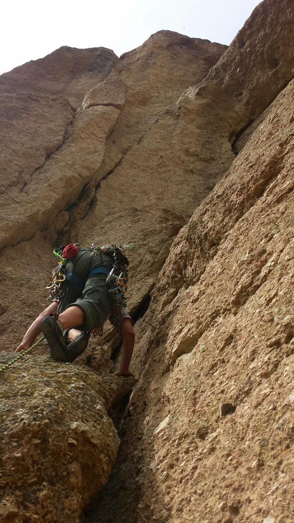 Los Angeles Multi-Pitch Rock Climbing