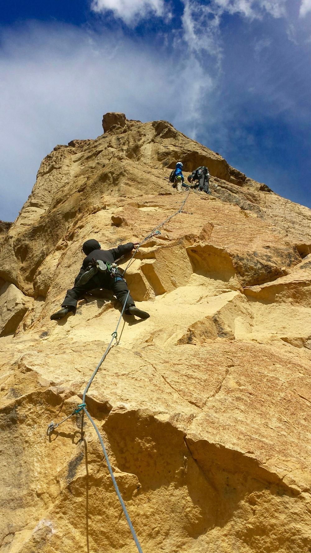 San Francisco Traditional Rock Climbing