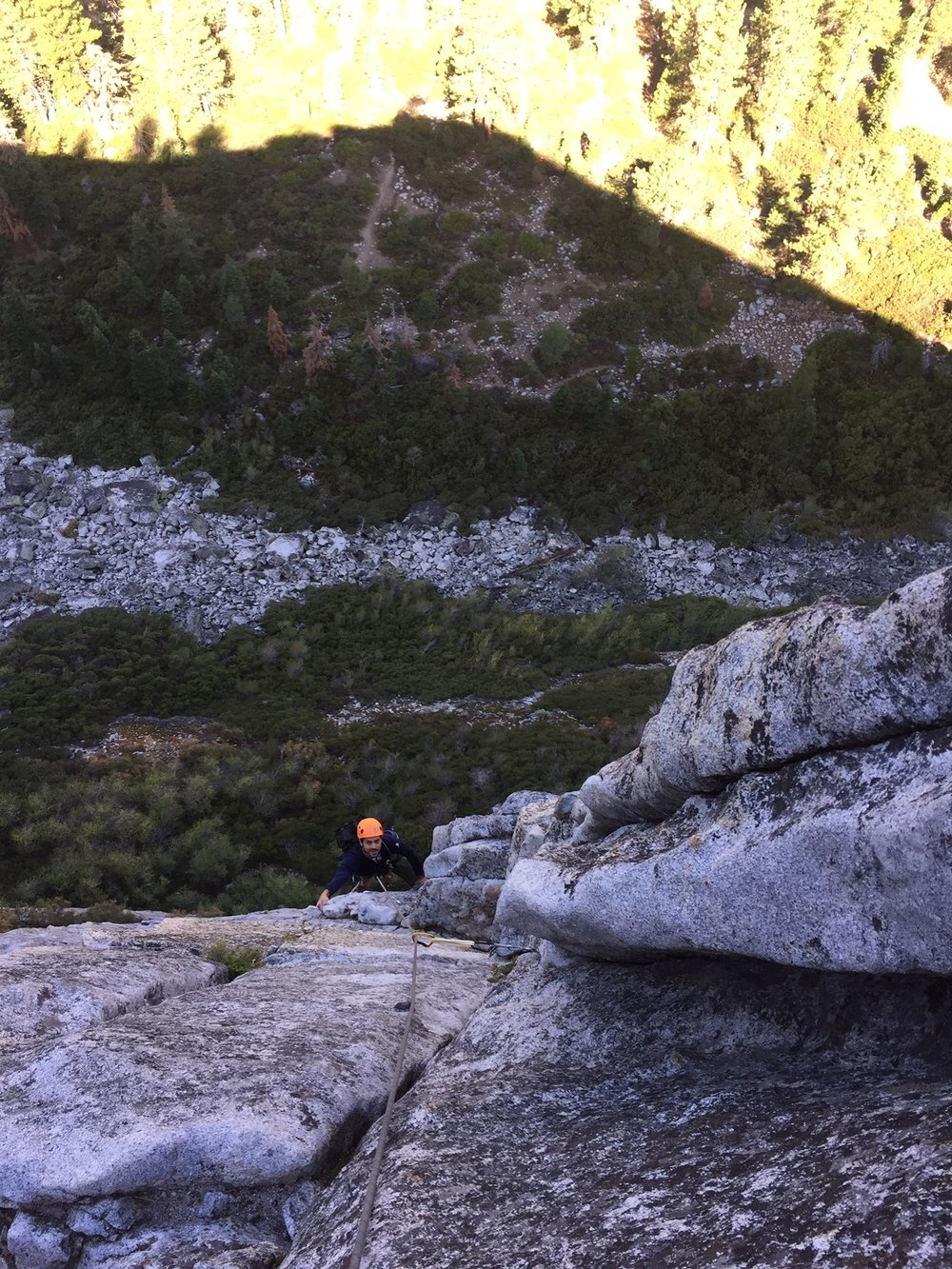 Climber 2 Lovers Leap Rock Climbing SAANO Adventures Trad Climbing Multi Pitch.JPG