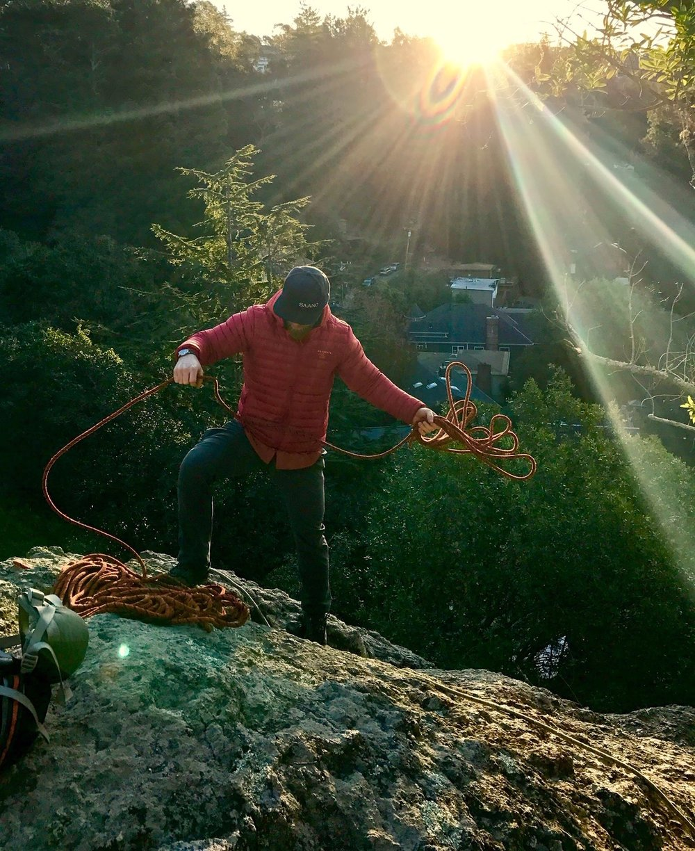 Throwing Ropes Rope Management Rock Climbing SAANO Adventures Trad Climbing Multi Pitch.JPG