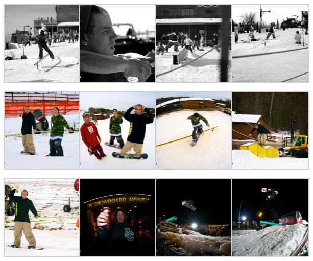 Theteamlab.com snowboard photo gallery. Season recap
