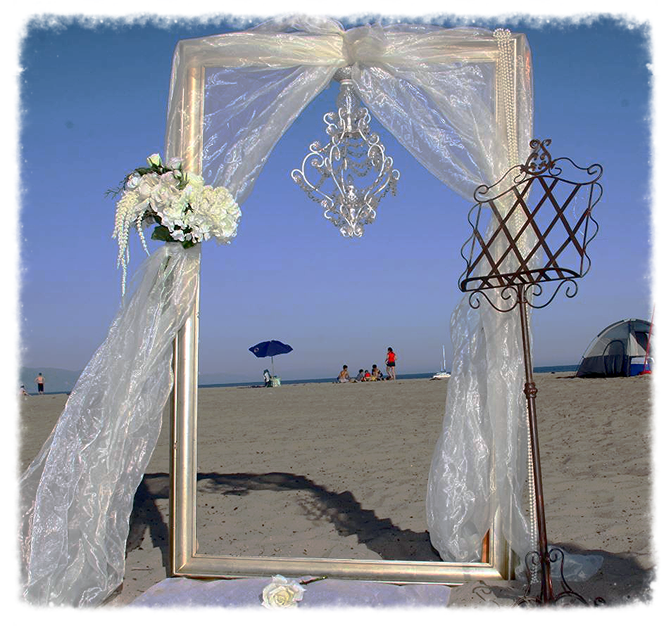 Wedding Altar Line Up: Arbors/Arches/Backdrops