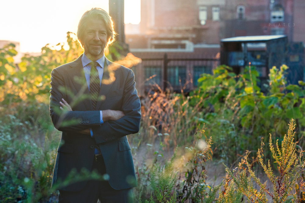 Long-time supporter of Friends of the Rail Park, Michael Garden is the newest member of the organization's board of directors. Photo credit: Plate 3 Photography