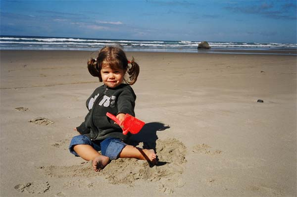 Ana on the Oregon Coast