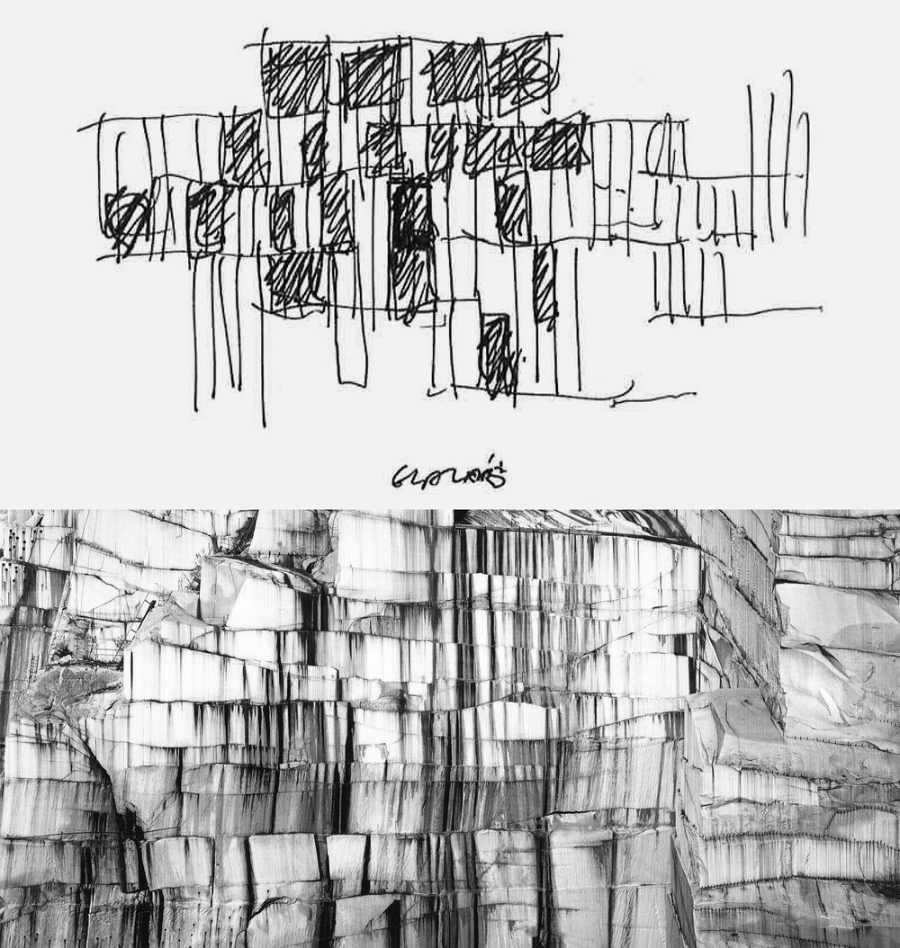 Mike Jobes  , 'Glazer's Facade Study'