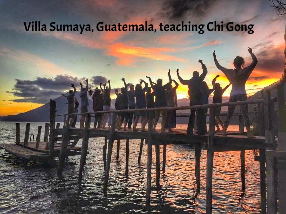 Qi Gong Guatemala Dock.JPG