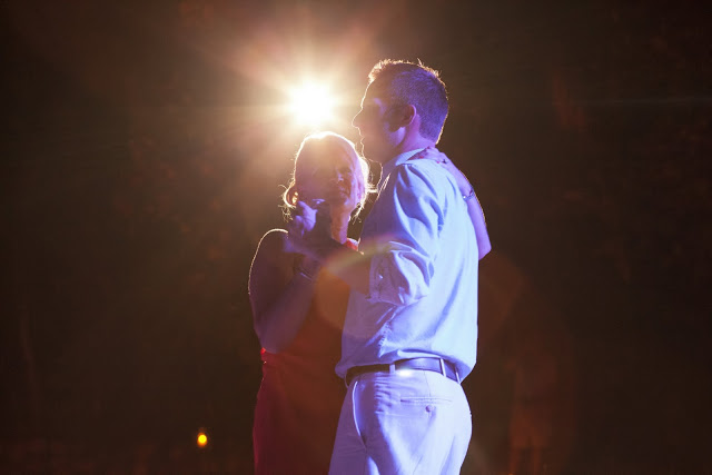 Groom and mother dancing alone in the dance floor at Las Caletas, Puerto Vallarta, MX