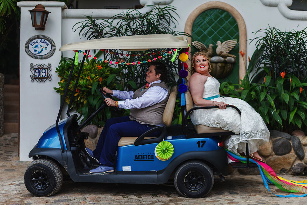 Sayulita-wedding-golf-car-lgbt