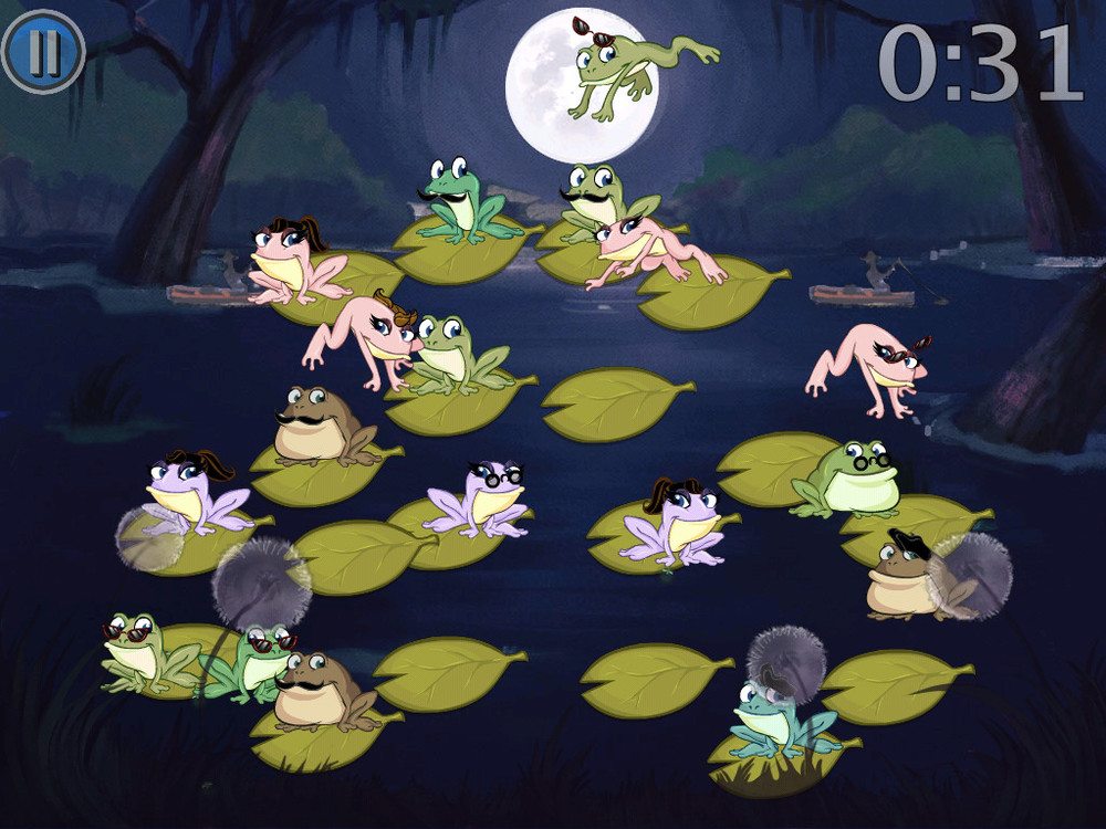 Kiss The Frog: A Memory Game