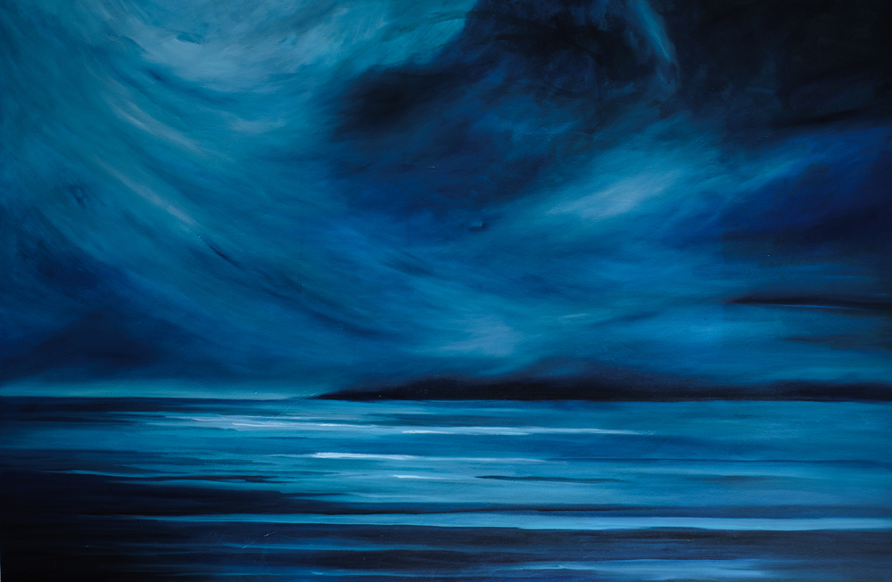 """Night Storm"" 48X72 No longer availa"